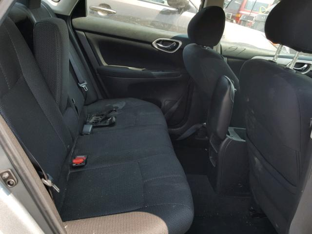 Salvage Certificate 2013 Nissan Sentra 18l 4 For Sale In Sacramento