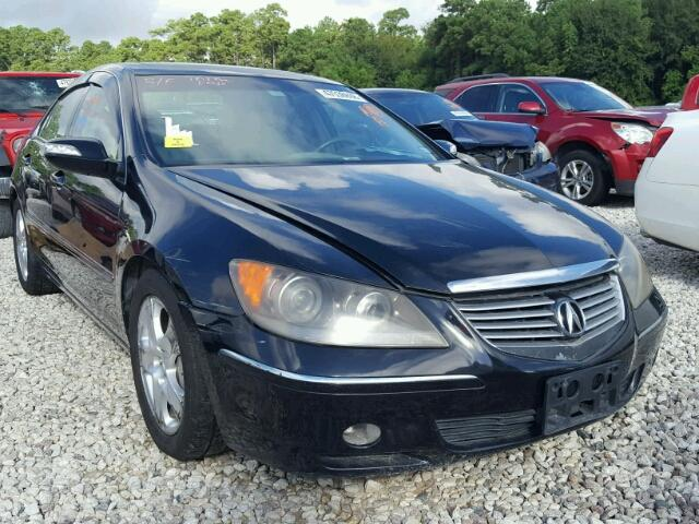 Salvage Vehicle Title Acura Rl Sedan D L For Sale In - Acura rl 2006 for sale