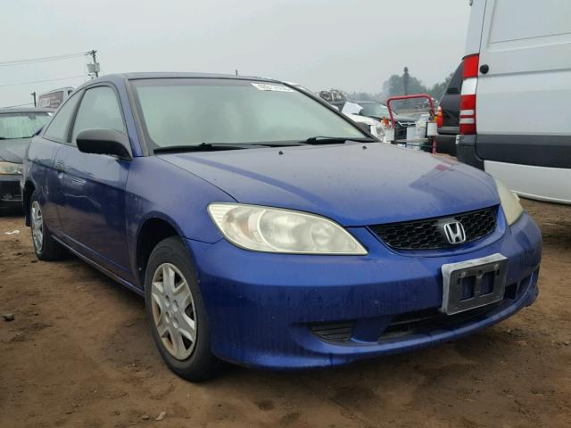 2004 HONDA CIVIC DX V   Left Front View Lot 48012558.