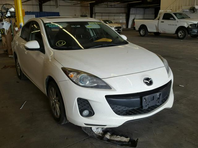 2013 MAZDA 3 I   Left Front View Lot 44779068.