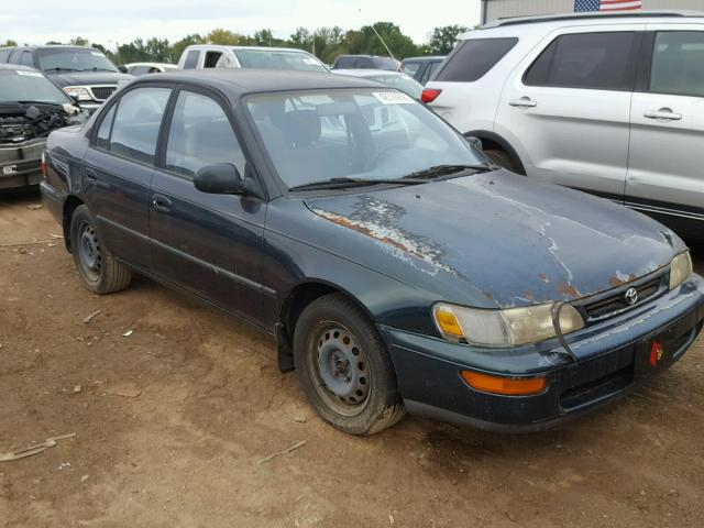 1997 TOYOTA COROLLA DX   Left Front View Lot 48326608.