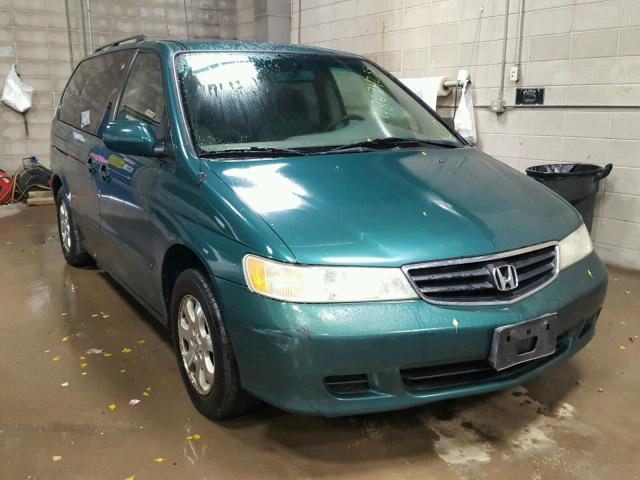 2002 HONDA ODYSSEY EX   Left Front View Lot 48634238.