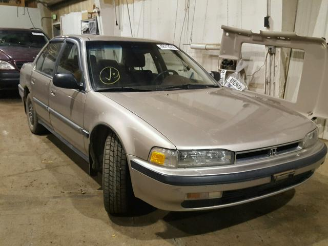 1990 HONDA ACCORD LX   Left Front View Lot 48712318.