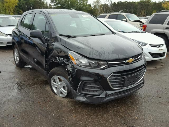 Salvage Title 2018 Chevrolet Trax Ls 14l 4 For Sale In Ham Lake Mn