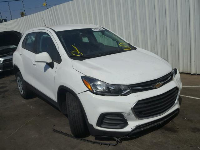 Salvage Certificate 2018 Chevrolet Trax Ls 14l 4 For Sale In Sun