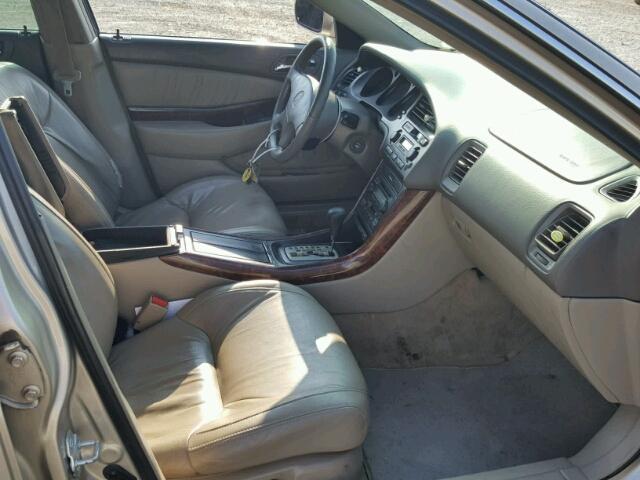 Certificate Of Title Salvage Acura Tl Sedan D L For - 2000 acura tl interior