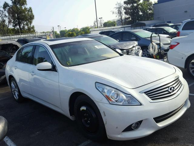 2012 Infiniti G37 Base Sedan 4d 37l 6 Gas White Rancho