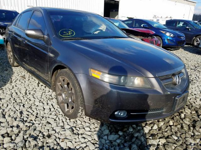 Salvage Certificate 2007 Acura Tl Type S Sedan 4d 3 5l For